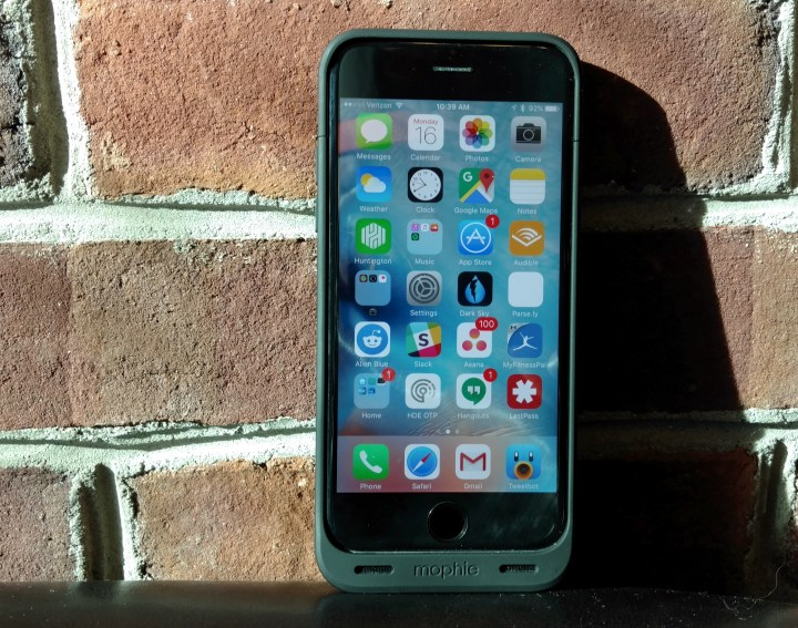 The Mophie Juice Pack Reserve iPhone 6s battery case is the perfect iPhone 6s accessory for power users.