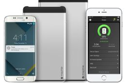 Use the Mophie Power app to monitor the battery life of the 5X and 8X Powerstation batteries.