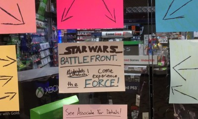 This is the Star Wars: Battlefront release time, and you can buy it at midnight release date events.
