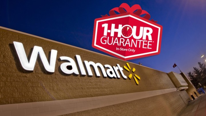 What you need to know about the Walmart Black Friday 1 Hour Guarantee deals, detail and gotchas.