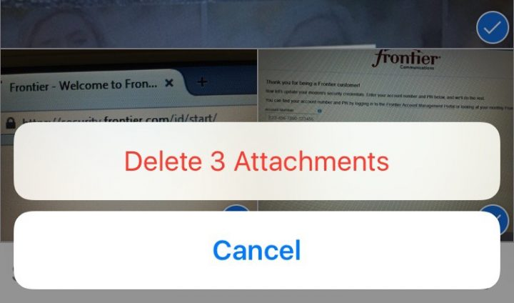 how to send attachments in imessage