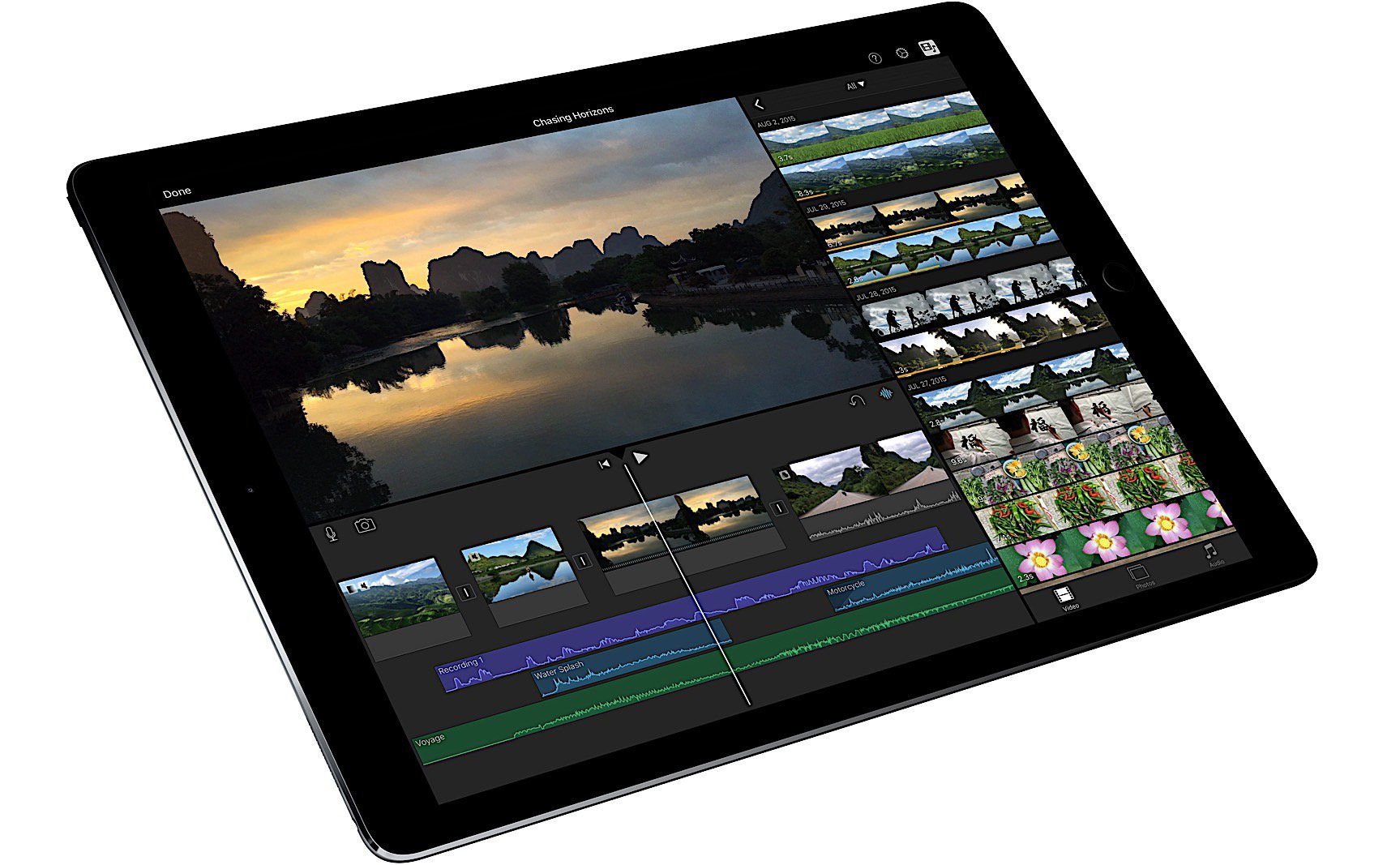 The Ipad Pro's Mobility Helps Video Editors On The Go You Could Use A  Macbook Pro How To