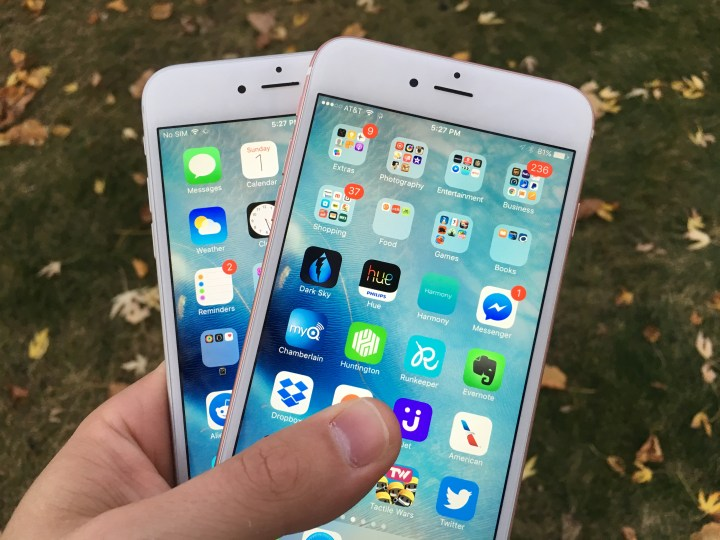 iPhone 6s Plus iPhone 6 Plus iOS 9.1 Update - 9