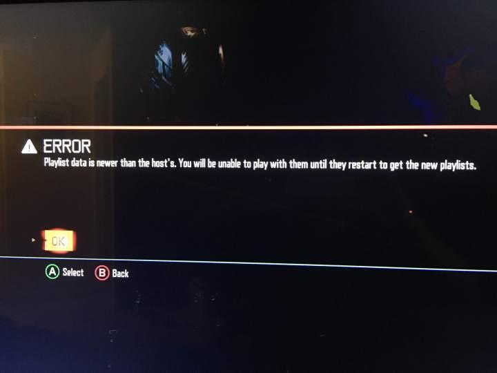 Black Ops 3 Problems - Playlist Data