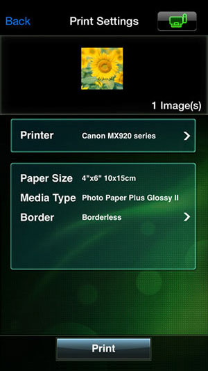 Canon-iOS-Printer-app