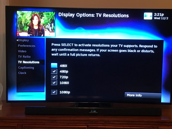 Double check settings to fix DirecTV quality issues.