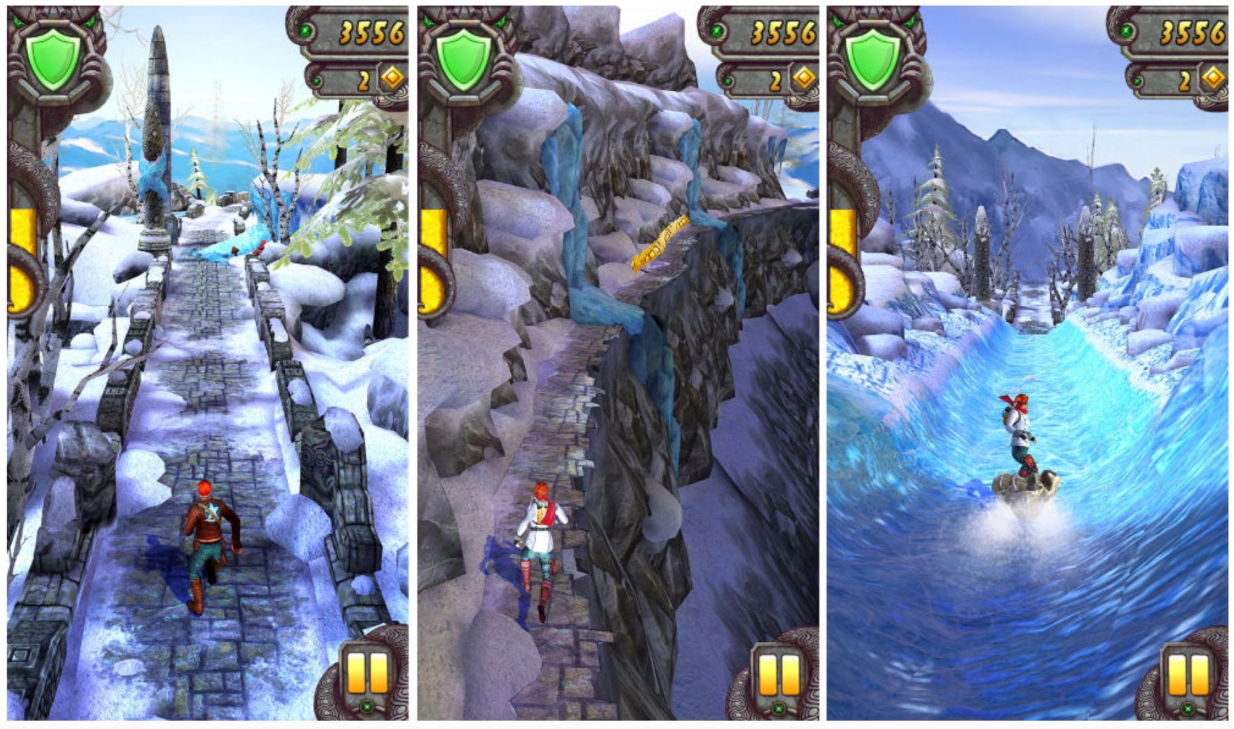 Temple Run 2: Frozen Shadows Holiday Update Released
