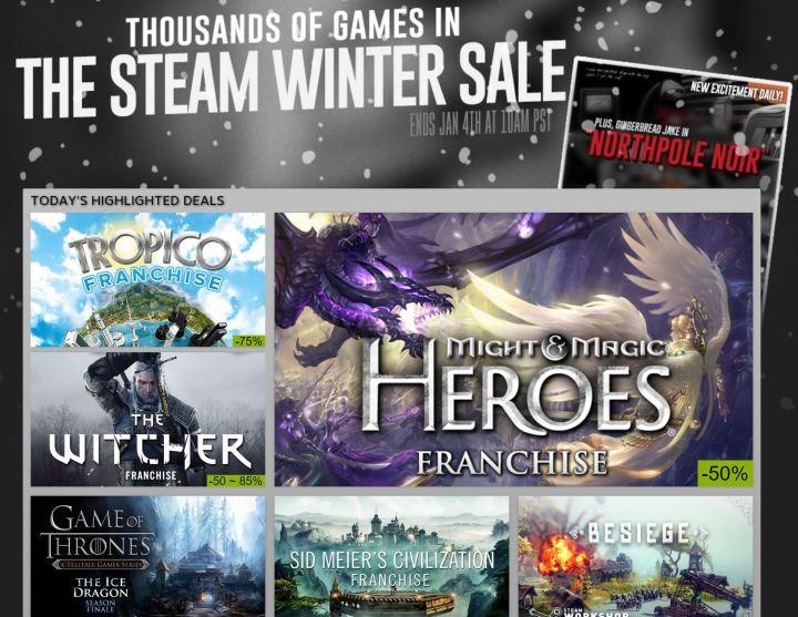 Steam Winter 2015 Sale