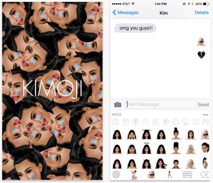 The new Summer Kimoji adds over 100 Kardashian emoji and 19 gifs for 99 cents.