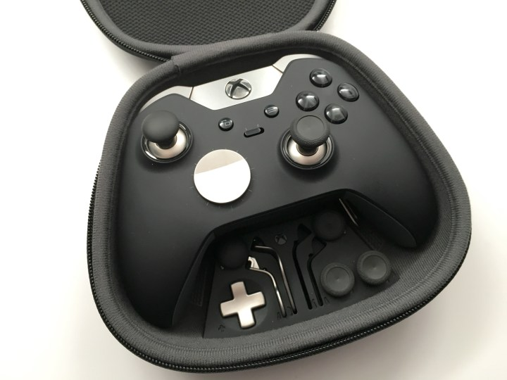 Carry your Xbox One Elite Controller and the accessories wherever you go.