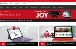 microsoft store holiday super sale