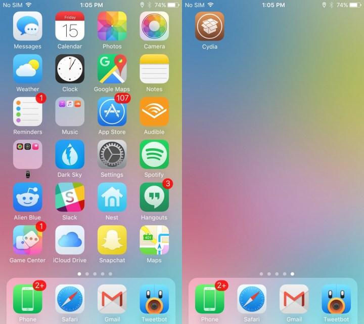 Aeyris iOS 9 Theme