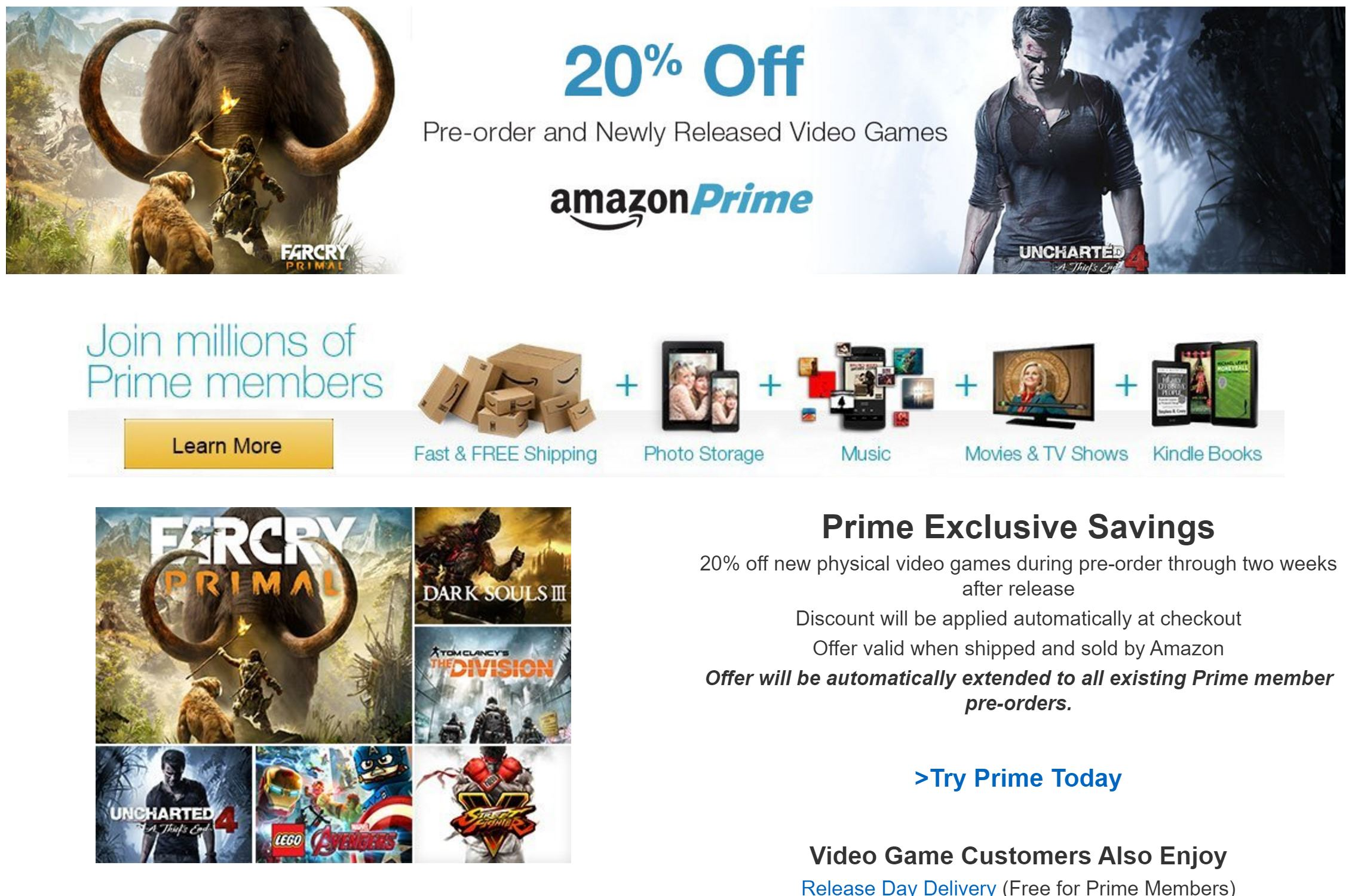 amazon prime switch games discount