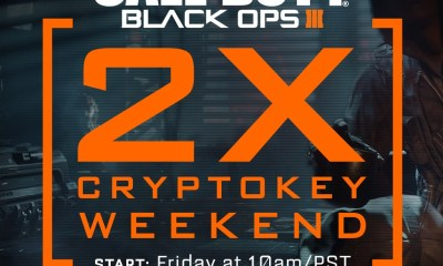 What you need to know about the Black Ops 3 2XCryptokey weekend that comes instead of a January Black Ops 3 Double XP weekend.