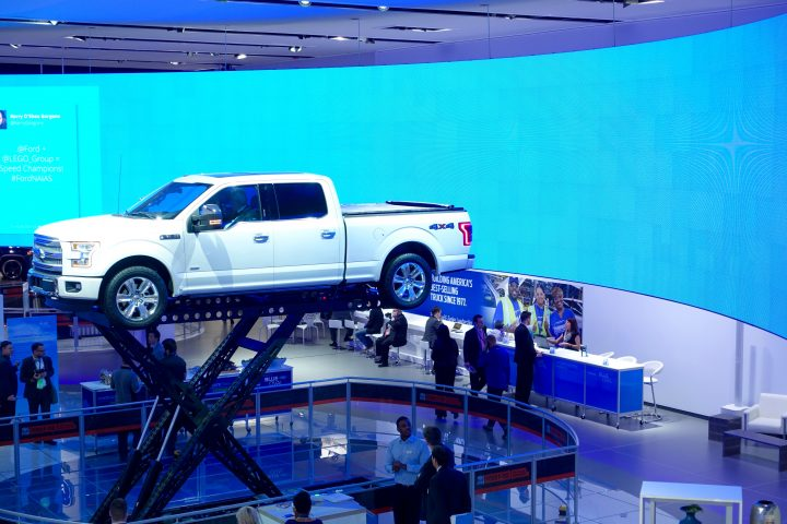 Get vertical and experience the new trailer assist on the F-150.