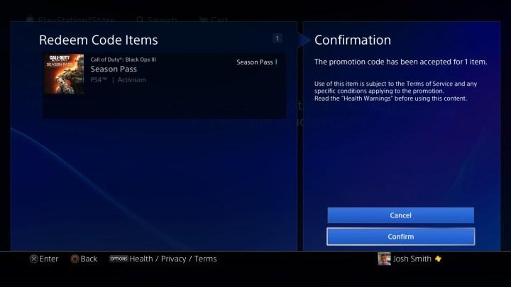 PS4 Black Ops 3 Season Pass DLC 1 - 3