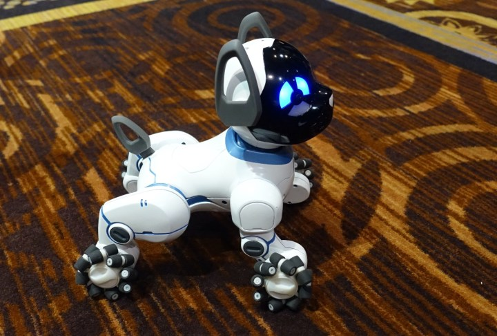 WowWee Chip Robotic Dog Takes on Zoomer Kitty