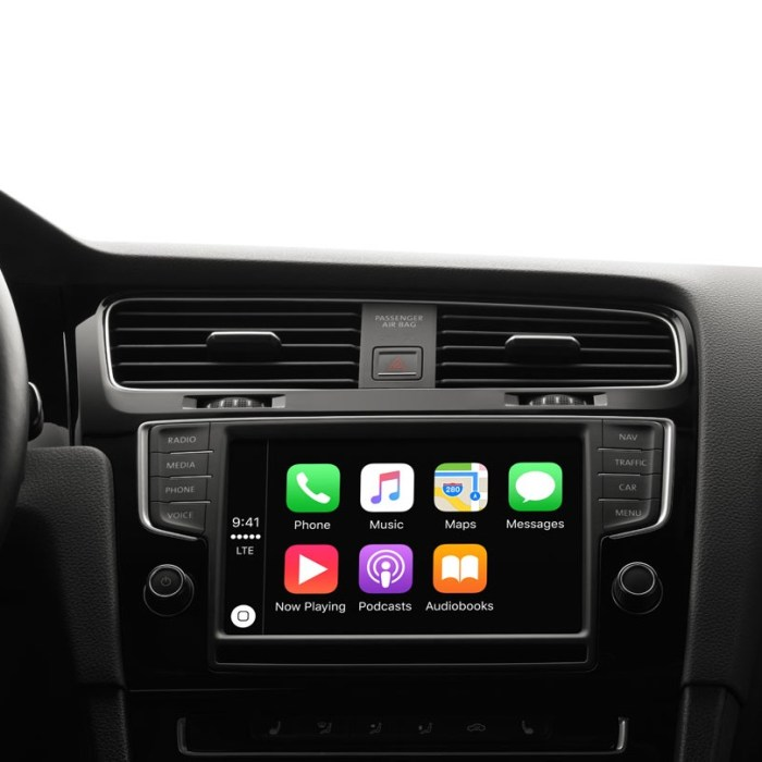Upgraded Apple CarPlay Experience