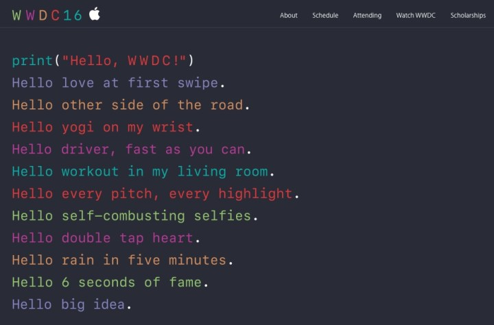 iOS 10 Announcement at WWDC 2016
