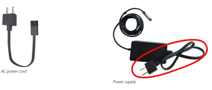 surface power cable