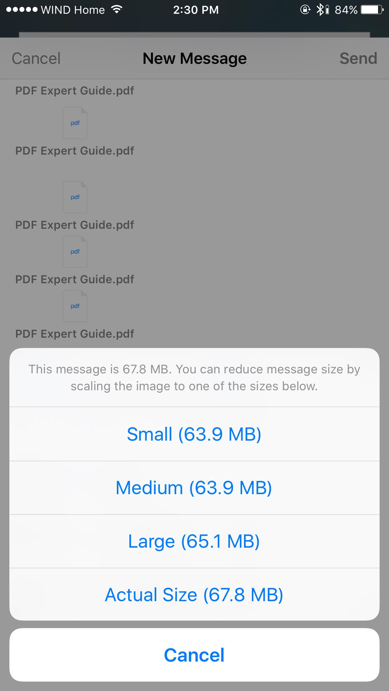 How to Email Big Files From Your iPhone with Mail Drop