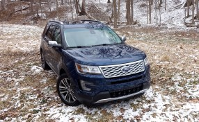 2016 Ford Explorer Platinum Review - 12