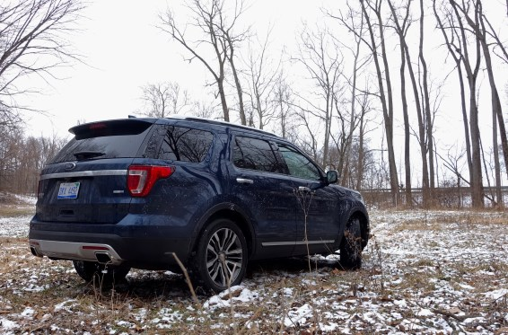 2016 Ford Explorer Platinum Review - 15