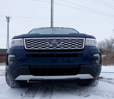 2016 Ford Explorer Platinum Review - 37