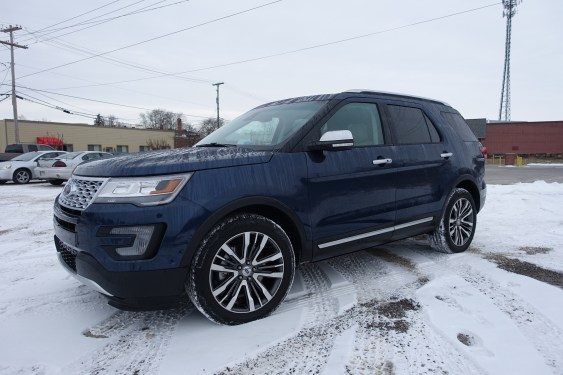 2016 Ford Explorer Platinum Review - 50