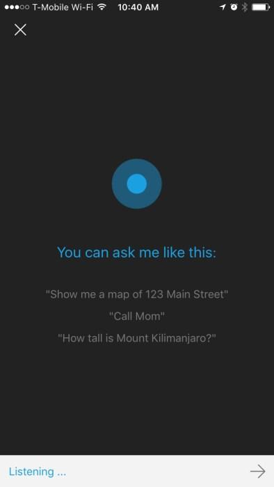 Cortana for iPhone 3