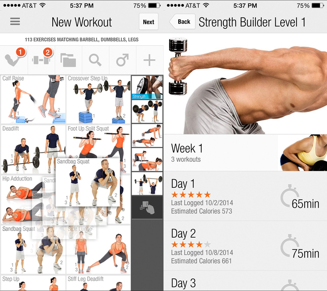 FitnessBuilder-screenshots