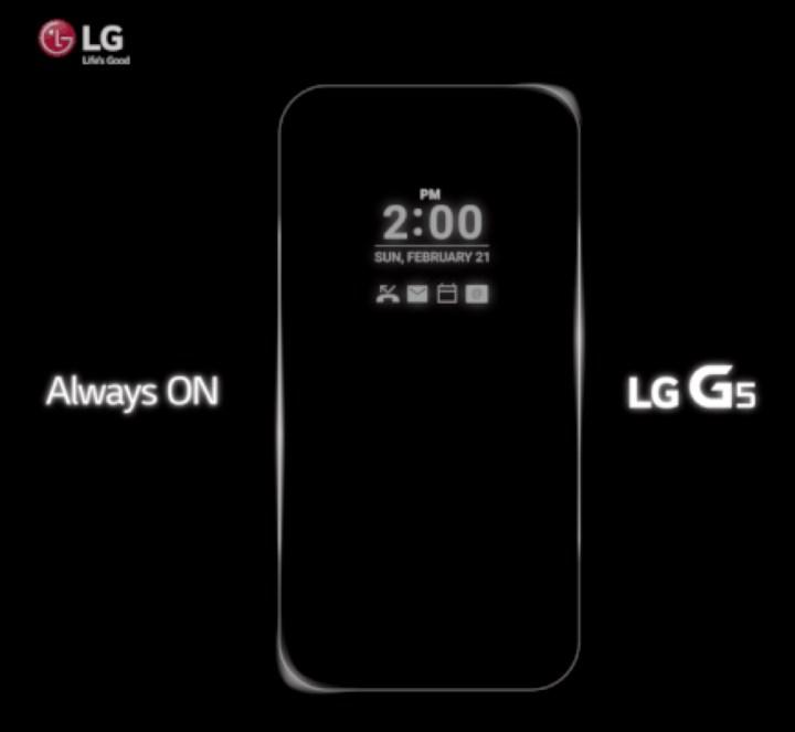 LG G5 Display