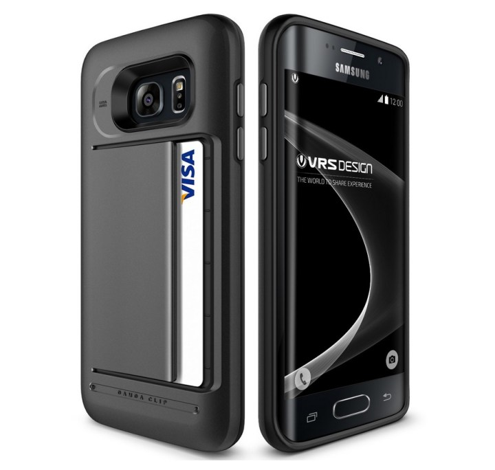 VRS Galaxy S7 Edge Wallet Case