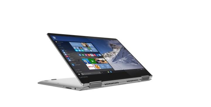 The Lenovo Yoga 710 14-inch.