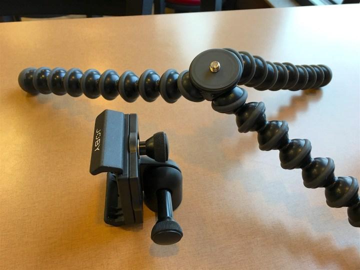 joby griptight gorillapod mount stand pro detached mount