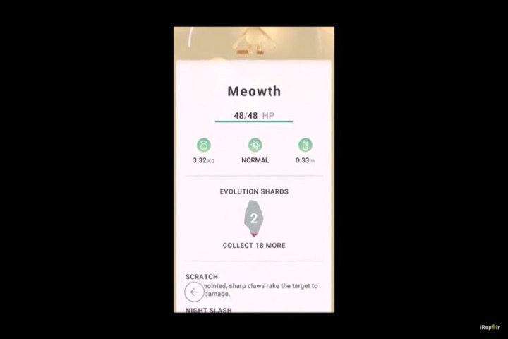 Pokemon Go Evolution Shards