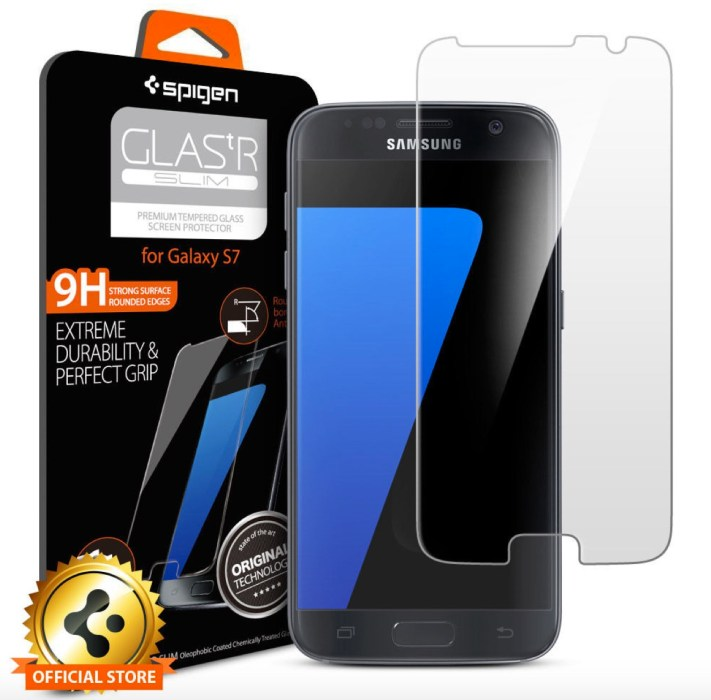 Spigen Glas.tR Slim Galaxy S7 Screen Protector