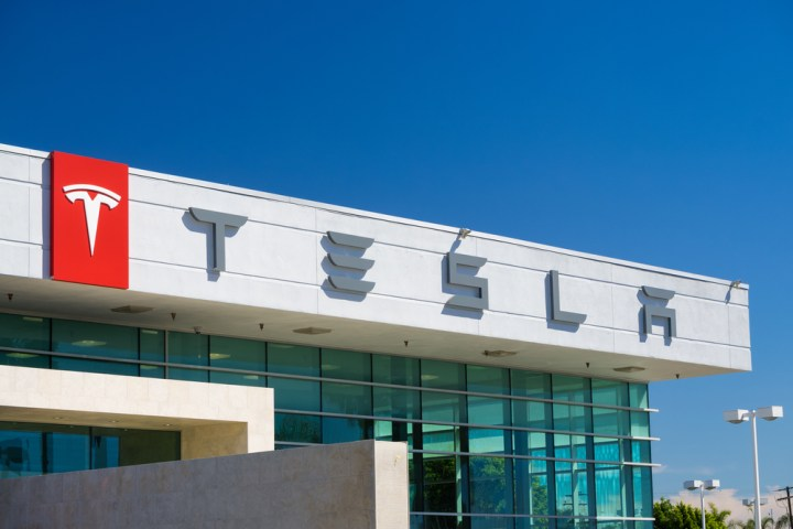 Tesla Model 3 pre-orders start in stores first. Ken Wolter / Shutterstock.com