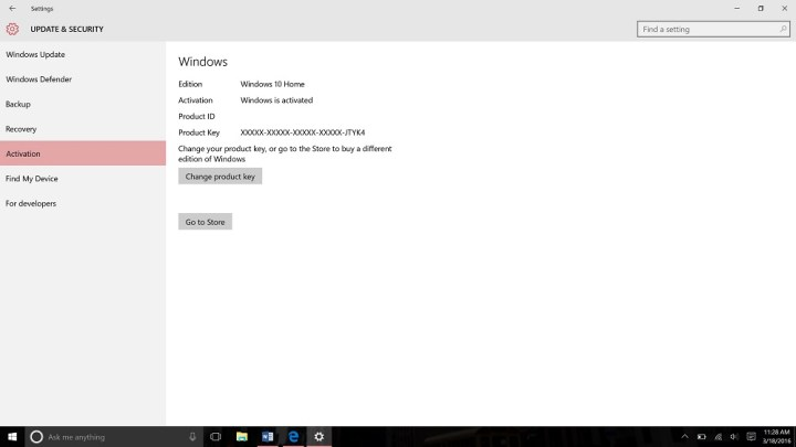 Upgrade from Windows 10 Home to Windows 10 Pro (5)