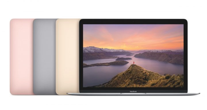 You can buy the 2016 MacBook in four colors including Rose Gold.