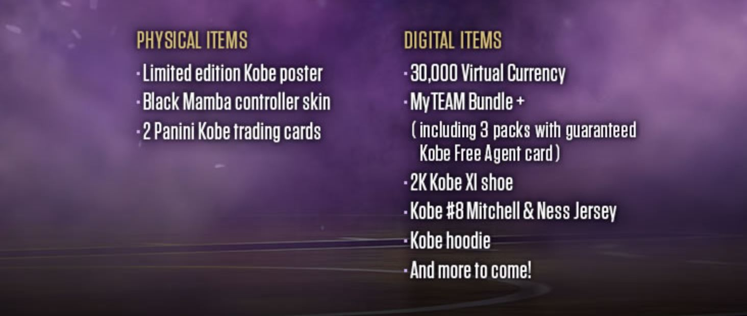 2K Games and Visual Concepts are also throwing in some digital extras ...