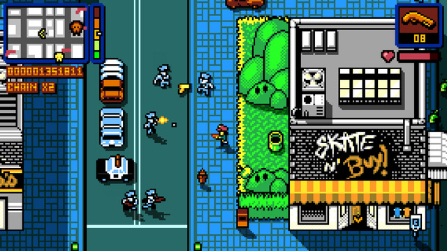 Best iPhone Games - Retro City Rampage DX