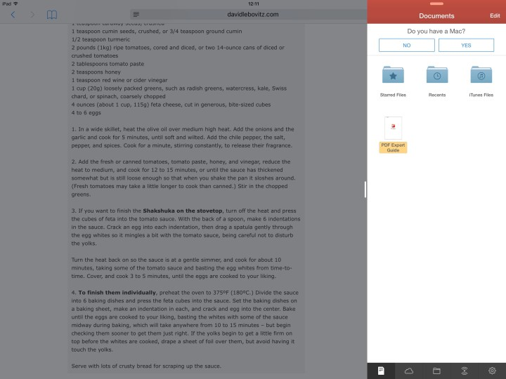 iPad Pro split screen