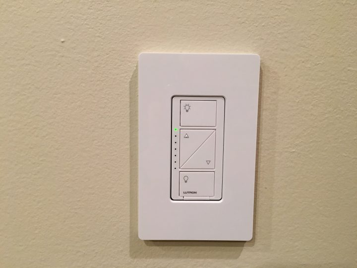 Control your home lights with an app, with Siri or with physical controls.
