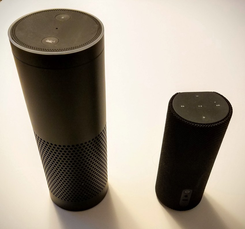amazon tap v amazon echo size