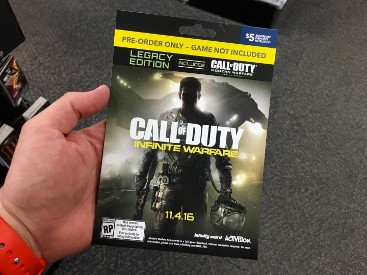 Call of Duty: Infinite Warfare Release Date