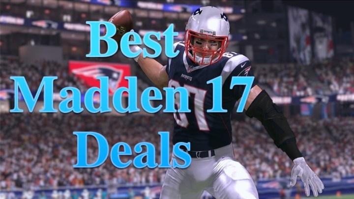 Madden 17 Deals