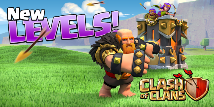 July 20th update added higher Giants & Archer Towers for TH11