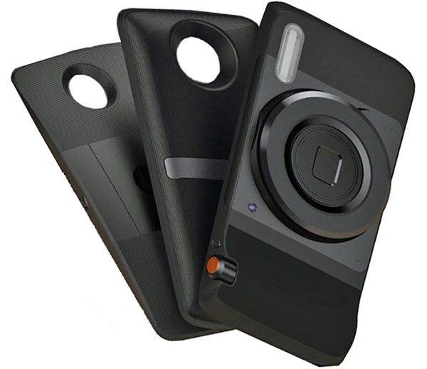Pico Projector, JBL Speaker, Hasselblad Camera modules