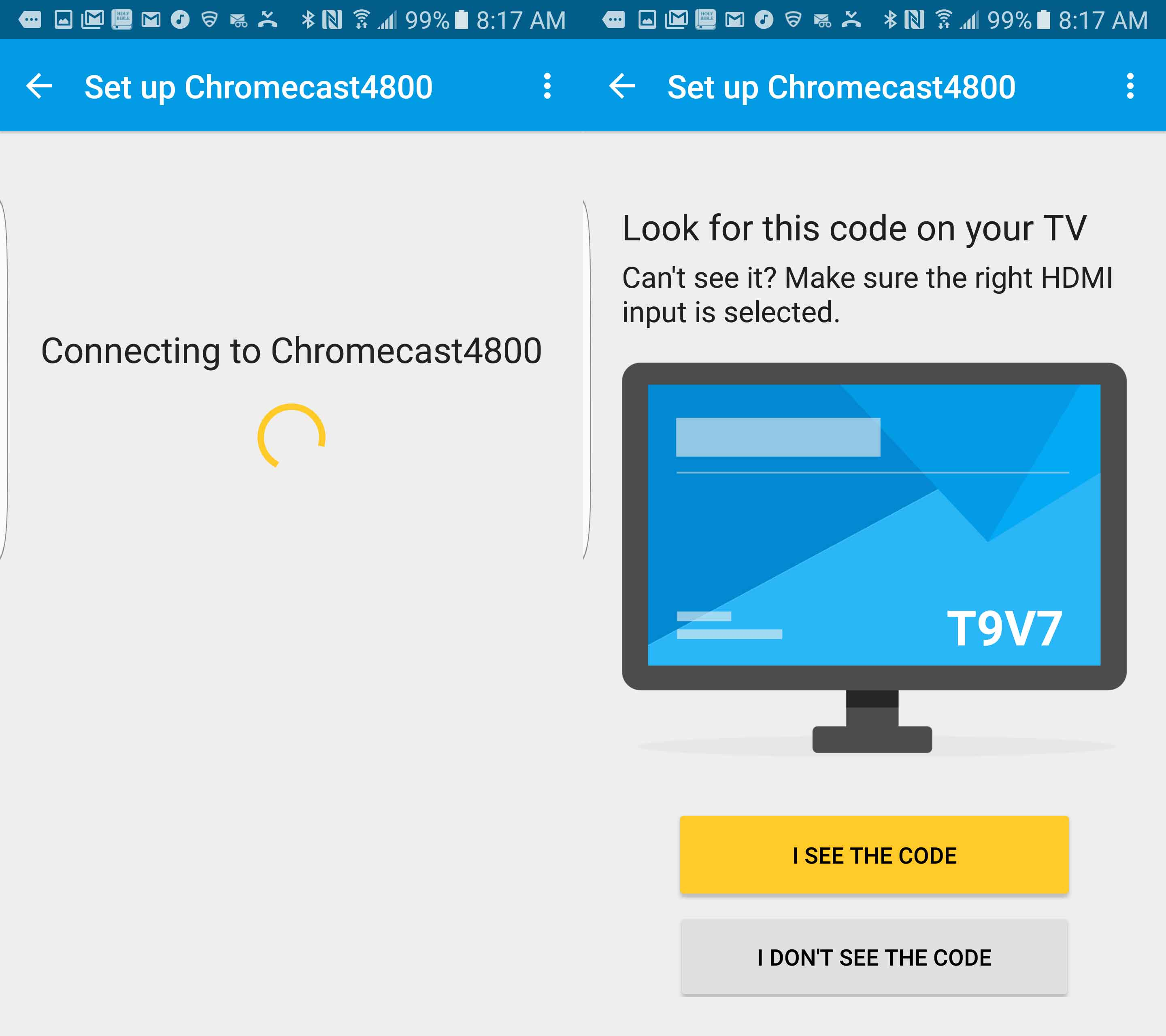how to connect your chromecast to wifi